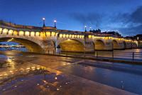 Pont Neuf and Seine, Paris, Ile de France, France.