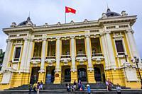 Hanoi Opera House, Hanoi, northern Vietnam.