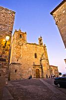 Church of Saint Matthew, Iglesia de san Mateo, San Mateo square, Old Town of Cáceres, World Heritage City by UNESCO, Caceres City, Caceres Province, E...