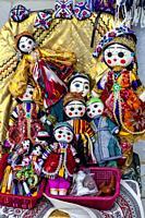 Colourful Souvenirs For Sale, Samarkand, Uzbekistan.