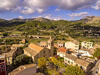 Iglesia del Sant Crist , siglo XIX, S'Arracó, término de Andratx, Mallorca, balearic islands, Spain.