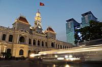City Hall, Ho Chi Minh, Vietnam.