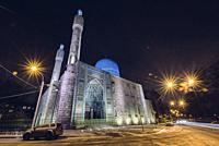 St. Petersburg, Russia - July 03, 2012: Cathedral mosque, 1909-1920, architect N. V. Vasilyev.