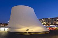 Volcan, Cultural Center by Oscar Niemeyer, Le Havre, Seine-Maritime department, France.