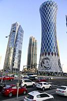 Roads, West Bay. Doha, Qatar.