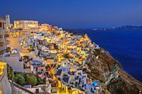 Thira. Santorini Island. Ciclades Islands. Greece