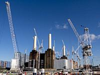 UK, england, London, Battersea Power Station.