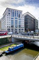 europe, UK, England, London, Kings Cross Regents Canal.