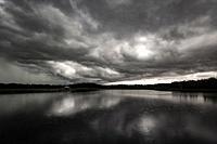 Thunderstorm over Green Cay Wetlands - Boynton Beach, Florida, USA.