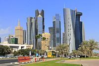 Doha Skyline, Qatar.