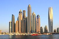 Dubai Marina, United Arab Emirates.