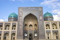 Uzbekistan, Bukhara, Medersa.