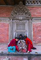 Patan, Lalitpur Metropolitan City, Kathmandu Valley, Nepal, Asia, Unesco World Heritage Site.