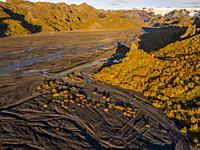 Landscape, Thorsmork, Iceland.