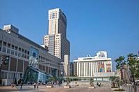 Japan, Sapporo Statio, Sapporo JR Tower.