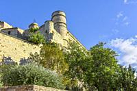castle Château du Barroux, Le Barroux, Provence, France
