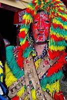 "Mask of Careto """"Traditional carnival mask"""" of Podence, Macedo de Cavaleiros, Portugal"