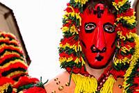 "Mask of Careto """"Traditional carnival mask"""" of Podence, Macedo de Cavaleiros, Portugal."