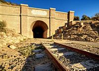 Central Chubut Railway Tunnel, Gaiman, The Welsh Settlement, Chubut Province, Patagonia, Argentina.