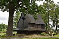 St. Leonard´s Church of Lipnica Murowana Malopolska Province (Lesser Poland), Poland, Central Europe.