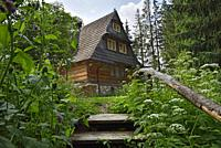 Lesniczowka u Zieby, a former forest house converted to a guesthouse and restaurant, located at the gate of the Chocholowska Valley, near Witow, Podha...
