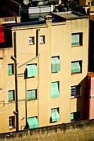 Residential building. Barcelona, Catalonia, Spain.