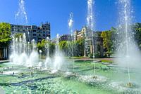 Parque de Doña Casilda, Bilbao, Biscay, Basque Country, Spain.
