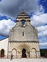 Eglise de Saint-Nexans, Saint-Nexans, Dordogne Department, Nouvelle-Aquitaine, France.