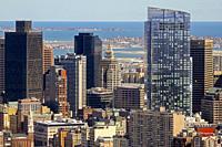 Skyscrapers, Boston, Massachusetts, United States.