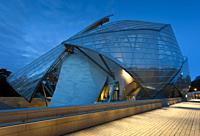 Louis Vuitton foundation, Paris, France.