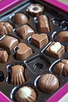 Chocolates in a Box.