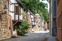 Neubrandenburg, old city, Mecklenburg-Vorpommern, Germany, Europe.