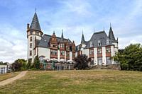 Schloss Klinik, Waren an der Müritz, Mecklenburg-Vorpommern, Germany, Europe.