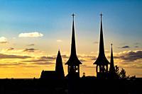Hateigskirkja Church in Reykjavik, Iceland.