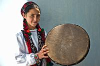 Girl from the Wakhan valley ( Tajikistan). She is a nizari ismaili. Ismailism is abranch of shia islam, ismailism itself is divided in 15 branches. Th...
