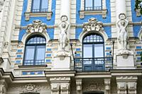 Riga, Latviaâ. . s capital, is set on the Baltic Sea at the mouth of the River Daugava. It's considered a cultural center and is home to many museums ...