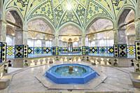 Hammam-e Sultan Mir Ahmad bath house, Kashan, Iran.