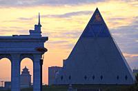 Kazakhstan; Astana; Palace of Peace and Reconciliation,.
