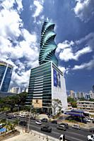 El Tornillo Building, Panama City, Republic of Panama, Central America, America.