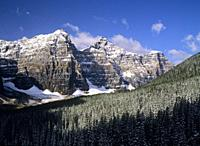 North America, Canada, Alberta, Banff National Park.