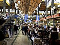 The Central market is a magnificent renascence of local sellers selling things that are a vital component of Hungarian culture. Budapest Hungary