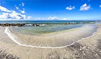 Gulf of Mexico at Caspersen Beach in Venice Florida United States.
