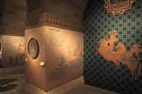 Azerbaijan; Baku, Old City, Palace of the Shirvanshahs, interior,.