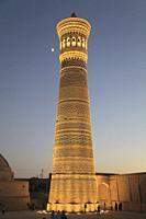 Uzbekistan; Bukhara; Kalon Minaret;.