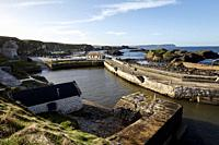 Ballintoy Harbour county antrim northern ireland used in Game of Thrones as the filming location for the Iron Islands.