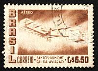 Brazilian postage stamp.