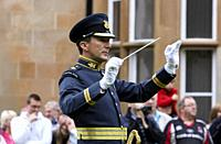 Conductor of the Royal Air Force Central Band in the uk.