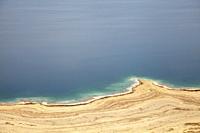 Dead Sea Coastline in Israel.