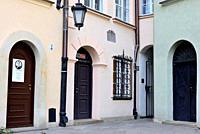 Corner in a small square of Stare Miasto, Warsaw, Poland.