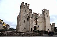 Castle, Sirmione, Lombardy, Veneto, Italy